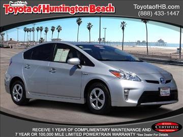 2015 Toyota Prius for sale in Huntington Beach, CA