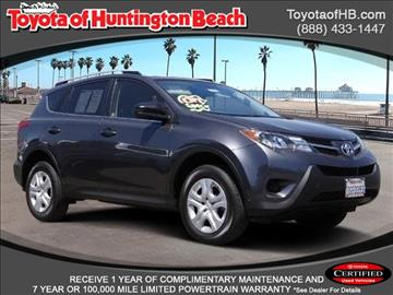 2014 Toyota RAV4 for sale in Huntington Beach, CA
