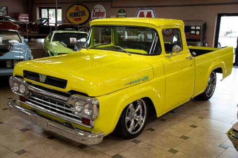 1960 Ford F-100 for sale at Ideal Classic Cars in Venice FL