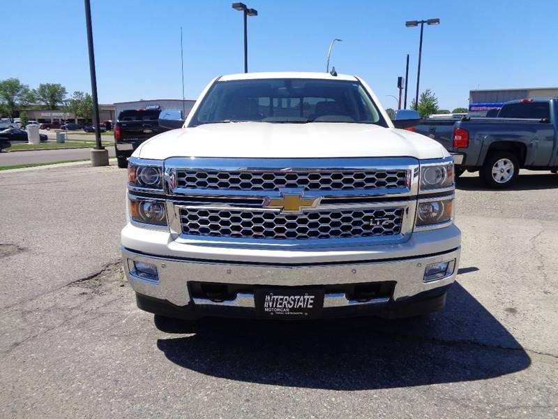 2015 Chevrolet Silverado 1500 4x4 LTZ 4dr Crew Cab 5.8 ft. SB w/Z71 - Fargo ND