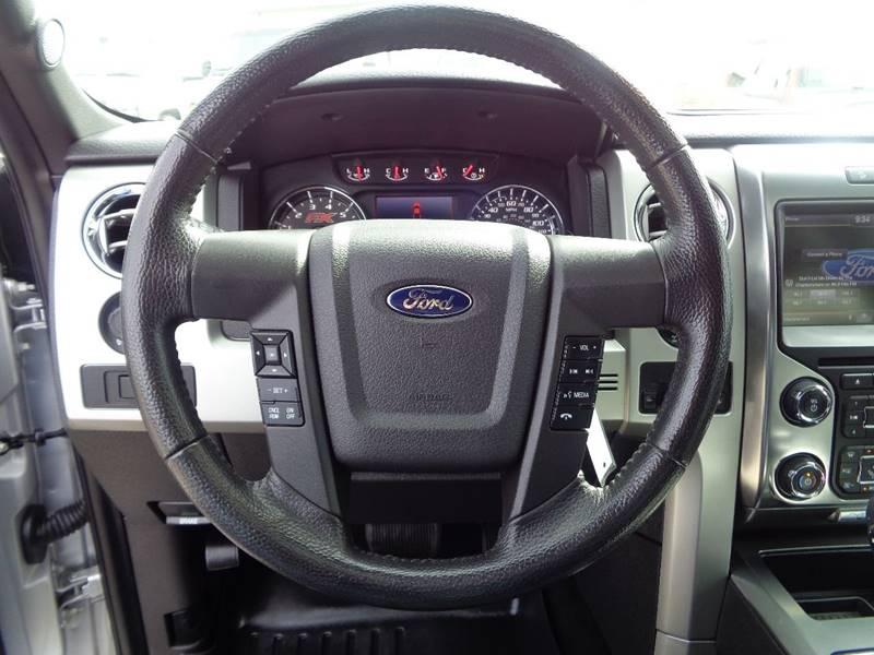 2013 Ford F-150 4x4 FX4 4dr SuperCrew Styleside 5.5 ft. SB - Fargo ND