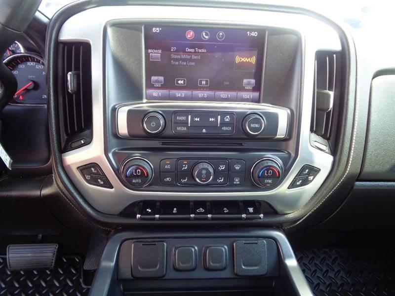 2015 GMC Sierra 2500HD 4x4 SLT 4dr Crew Cab SB - Fargo ND