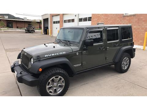2015 Jeep Wrangler Unlimited for sale in Meeker, CO