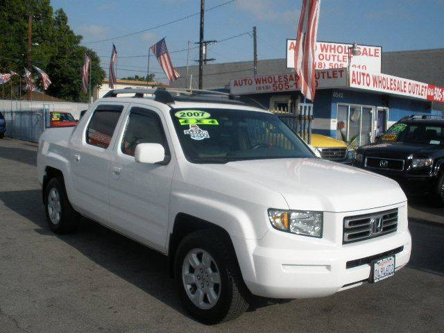 2007 Honda Ridgeline for sale at Auto Wholesale Outlet in North Hollywood CA