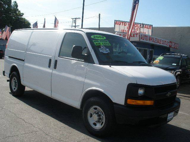 2008 Chevrolet Express Cargo for sale at Auto Wholesale Outlet in North Hollywood CA