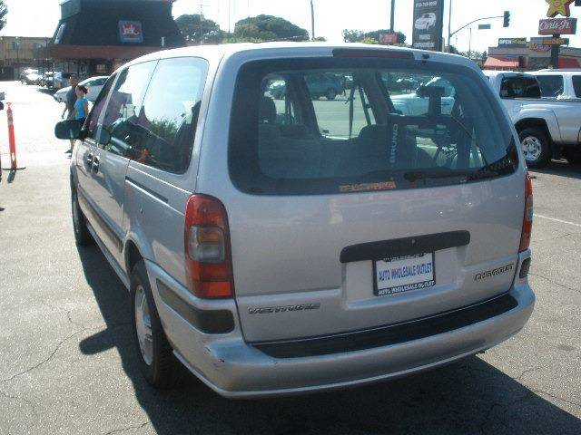 1998 Chevrolet Venture for sale at Auto Wholesale Outlet in North Hollywood CA