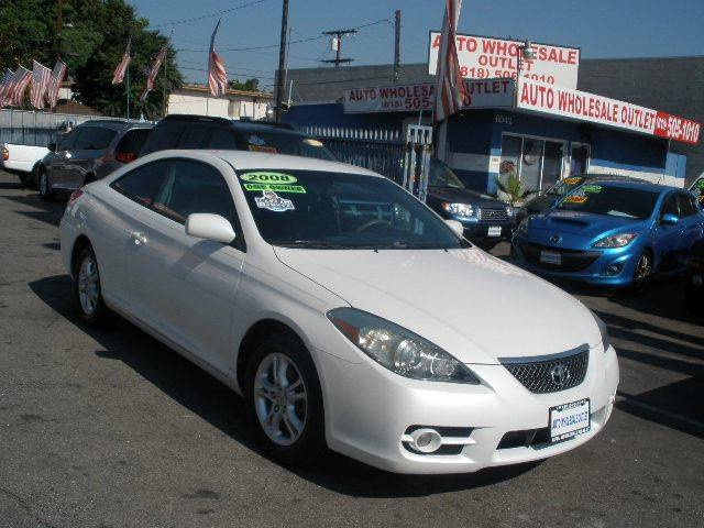 2008 Toyota Camry Solara for sale at Auto Wholesale Outlet in North Hollywood CA