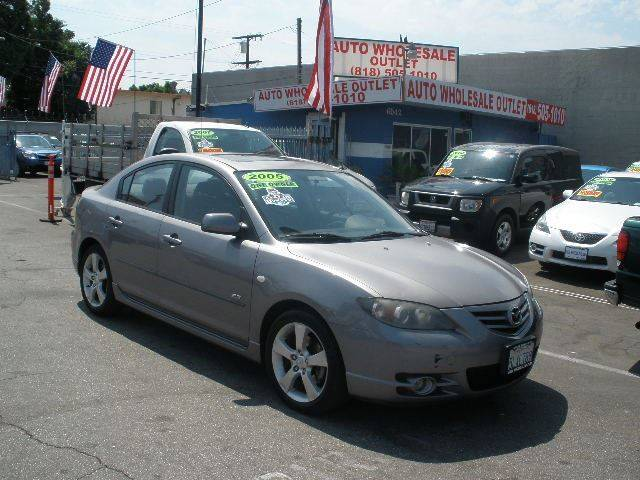 2005 Mazda MAZDA3 for sale at Auto Wholesale Outlet in North Hollywood CA