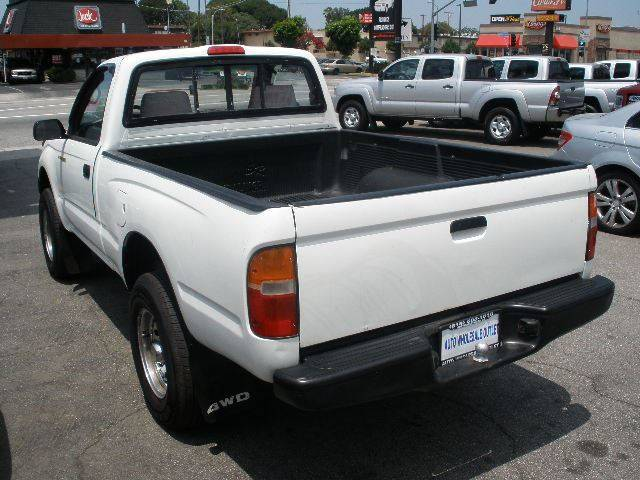 1997 Toyota Tacoma for sale at Auto Wholesale Outlet in North Hollywood CA