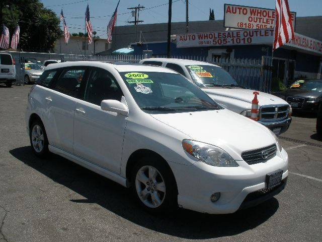 2007 Toyota Matrix for sale at Auto Wholesale Outlet in North Hollywood CA