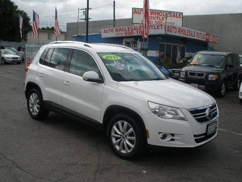 2011 Volkswagen Tiguan for sale at Auto Wholesale Outlet in North Hollywood CA
