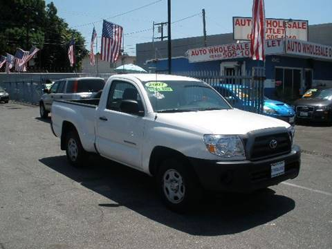 2007 Toyota Tacoma for sale at Auto Wholesale Outlet in North Hollywood CA