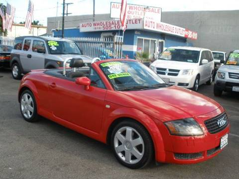 2002 Audi TT for sale in North Hollywood, CA