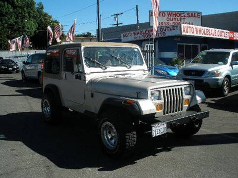 1995 Jeep Wrangler for sale in North Hollywood, CA