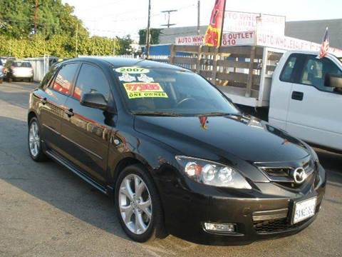 2007 Mazda MAZDA3 for sale at Auto Wholesale Outlet in North Hollywood CA