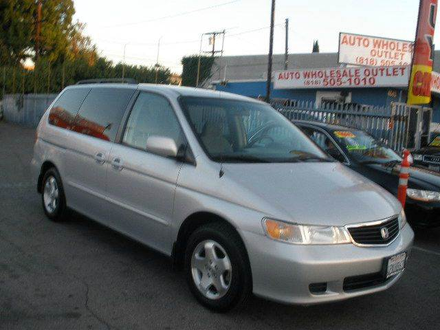 2001 Honda Odyssey for sale at Auto Wholesale Outlet in North Hollywood CA