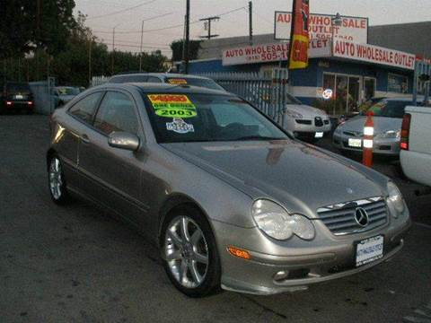 2003 Mercedes-Benz C-Class for sale at Auto Wholesale Outlet in North Hollywood CA