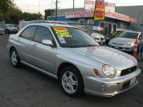 2003 Subaru Impreza for sale at Auto Wholesale Outlet in North Hollywood CA
