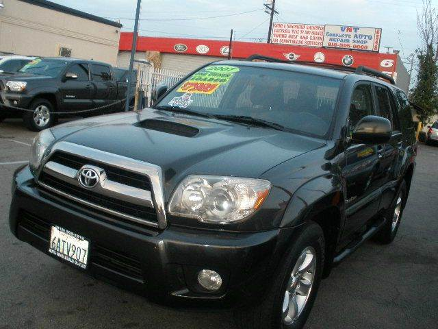 2007 Toyota 4Runner for sale at Auto Wholesale Outlet in North Hollywood CA