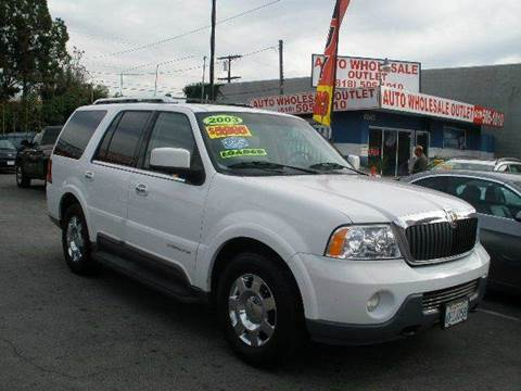 2003 Lincoln Navigator for sale at Auto Wholesale Outlet in North Hollywood CA