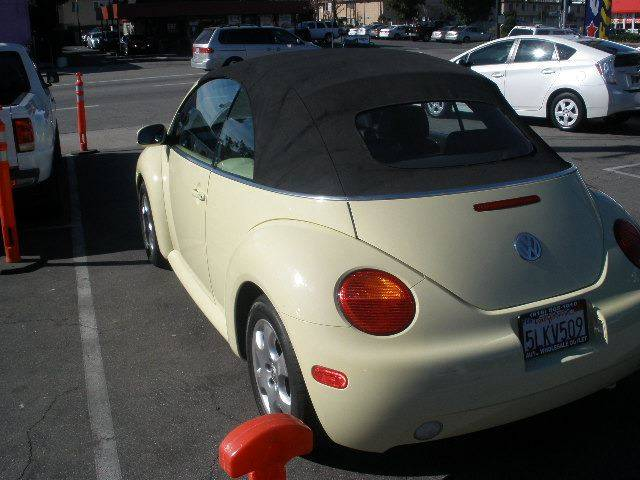 2003 Volkswagen New Beetle for sale at Auto Wholesale Outlet in North Hollywood CA