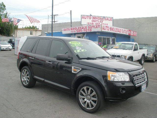 2008 Land Rover Lr2 Hse In North Hollywood Ca Auto Wholesale Outlet