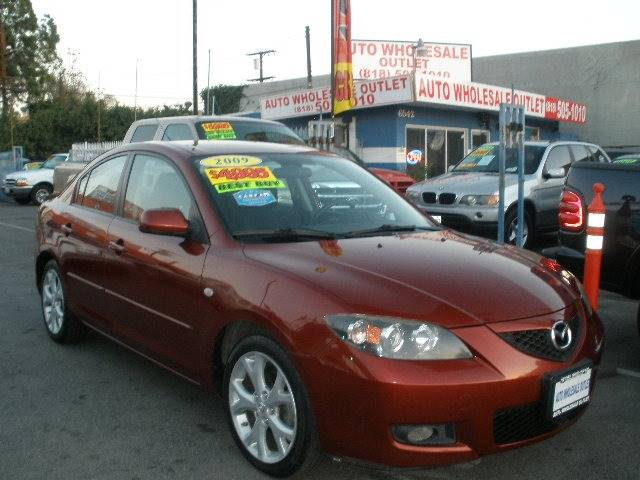 2009 Mazda MAZDA3 for sale at Auto Wholesale Outlet in North Hollywood CA