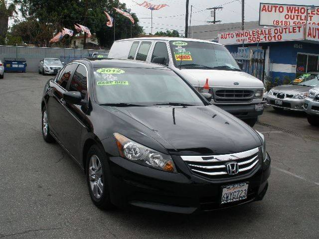 2012 Honda Accord for sale at AUTO WHOLESALE OUTLET in North Hollywood CA