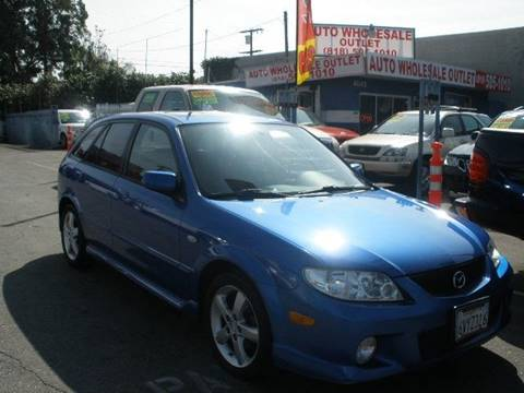 2003 Mazda Protege5 for sale at Auto Wholesale Outlet in North Hollywood CA