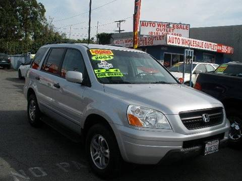 2004 Honda Pilot for sale at Auto Wholesale Outlet in North Hollywood CA