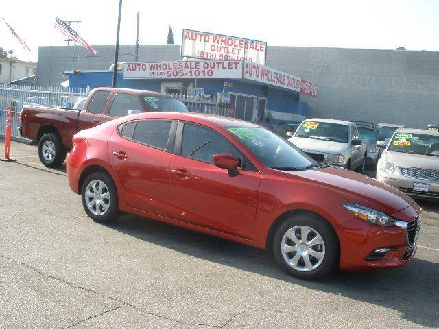 2018 Mazda MAZDA3 for sale at AUTO WHOLESALE OUTLET in North Hollywood CA