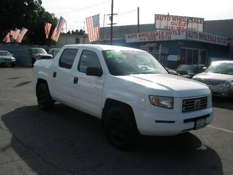 Honda North Hollywood >> Used Honda Ridgeline For Sale In North Hollywood Ca Carsforsale Com