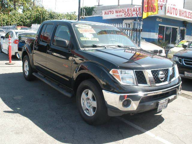 2005 Nissan Frontier for sale at Auto Wholesale Outlet in North Hollywood CA