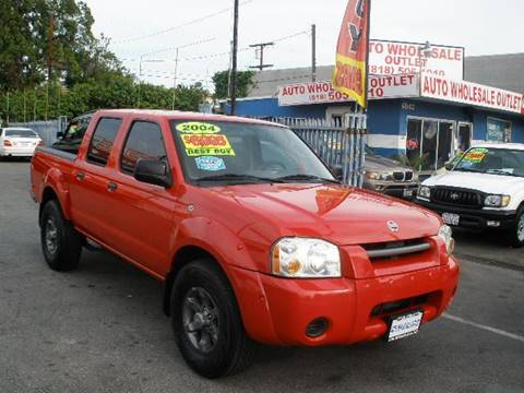 2004 Nissan Frontier for sale at Auto Wholesale Outlet in North Hollywood CA