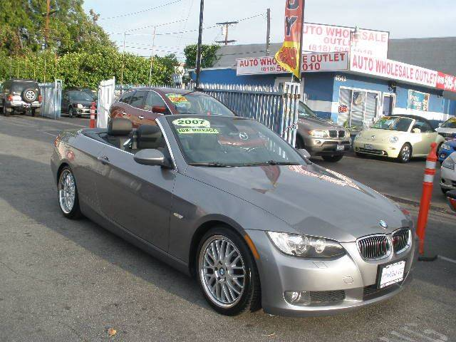BMW Series I In North Hollywood CA Auto Wholesale Outlet - 2007 bmw 328i convertible