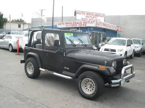 1994 Jeep Wrangler for sale in North Hollywood, CA