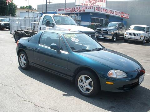 1997 Honda Civic del Sol for sale in North Hollywood, CA