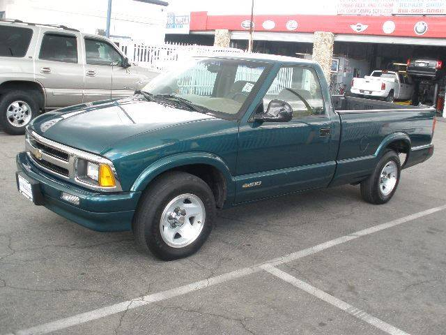 1996 Chevrolet S-10 for sale at Auto Wholesale Outlet in North Hollywood CA