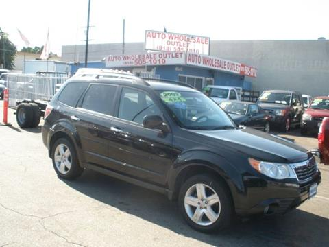 2009 Subaru Forester for sale in North Hollywood, CA