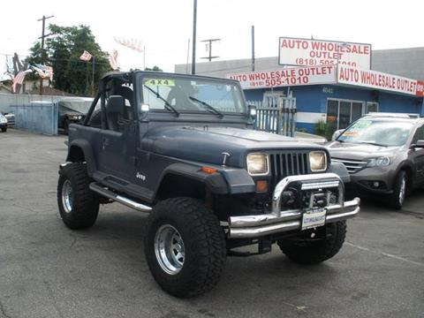 1990 Jeep Wrangler for sale in North Hollywood, CA