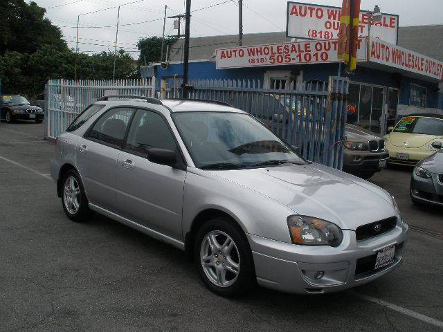 2005 Subaru Impreza for sale at Auto Wholesale Outlet in North Hollywood CA