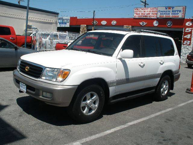 1999 Toyota Land Cruiser for sale at Auto Wholesale Outlet in North Hollywood CA