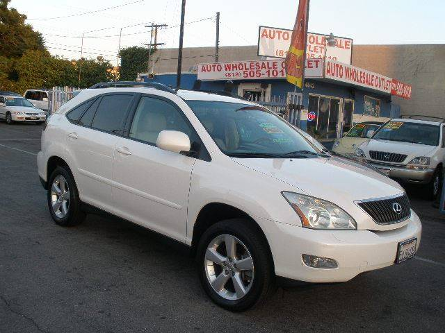 2007 Lexus RX 350 for sale at Auto Wholesale Outlet in North Hollywood CA