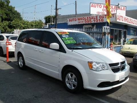 2012 Dodge Grand Caravan for sale at Auto Wholesale Outlet in North Hollywood CA