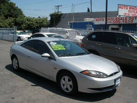 2000 Mercury Cougar for sale at Auto Wholesale Outlet in North Hollywood CA