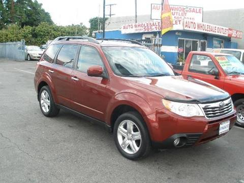 2009 Subaru Forester for sale at Auto Wholesale Outlet in North Hollywood CA