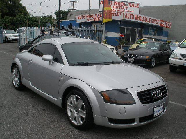 2004 Audi TT for sale at Auto Wholesale Outlet in North Hollywood CA