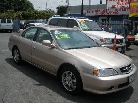 2001 Acura TL for sale at Auto Wholesale Outlet in North Hollywood CA