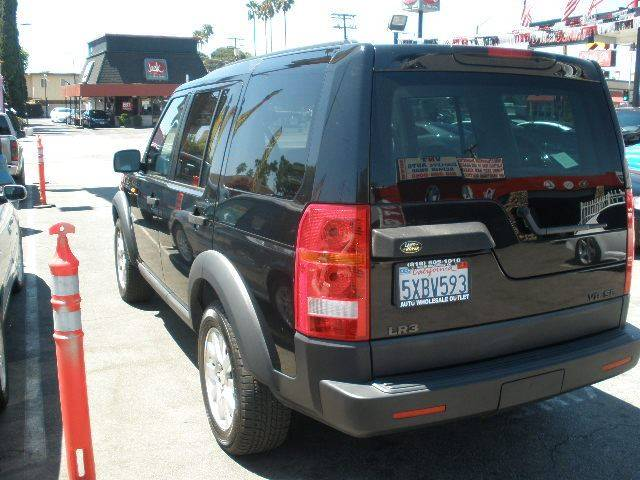 2005 Land Rover LR3 for sale at Auto Wholesale Outlet in North Hollywood CA
