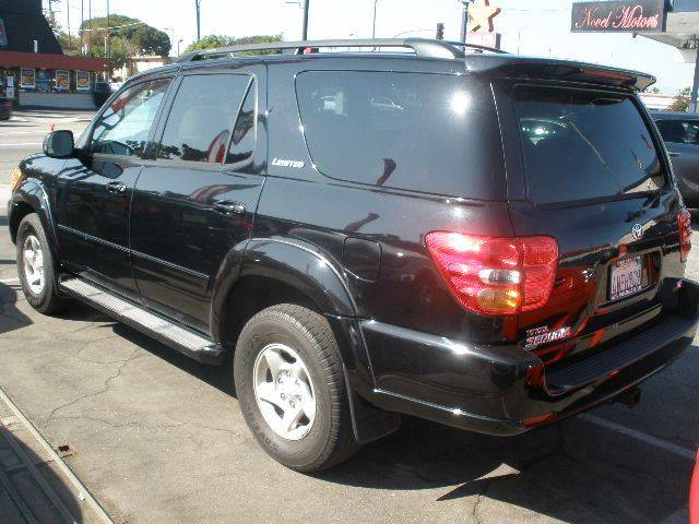 2002 Toyota Sequoia for sale at Auto Wholesale Outlet in North Hollywood CA
